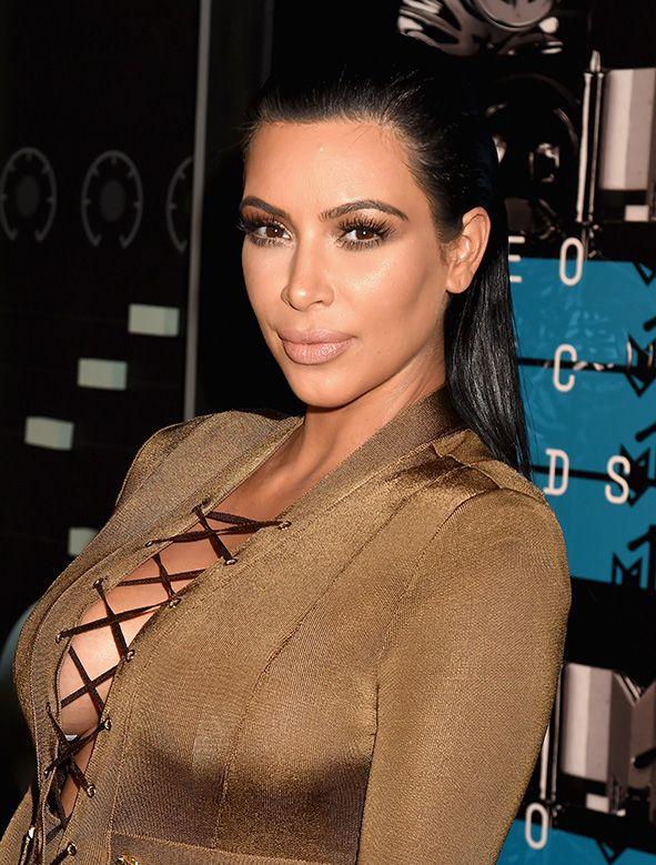 Как повторить прическу Ким Кардашьян? фото