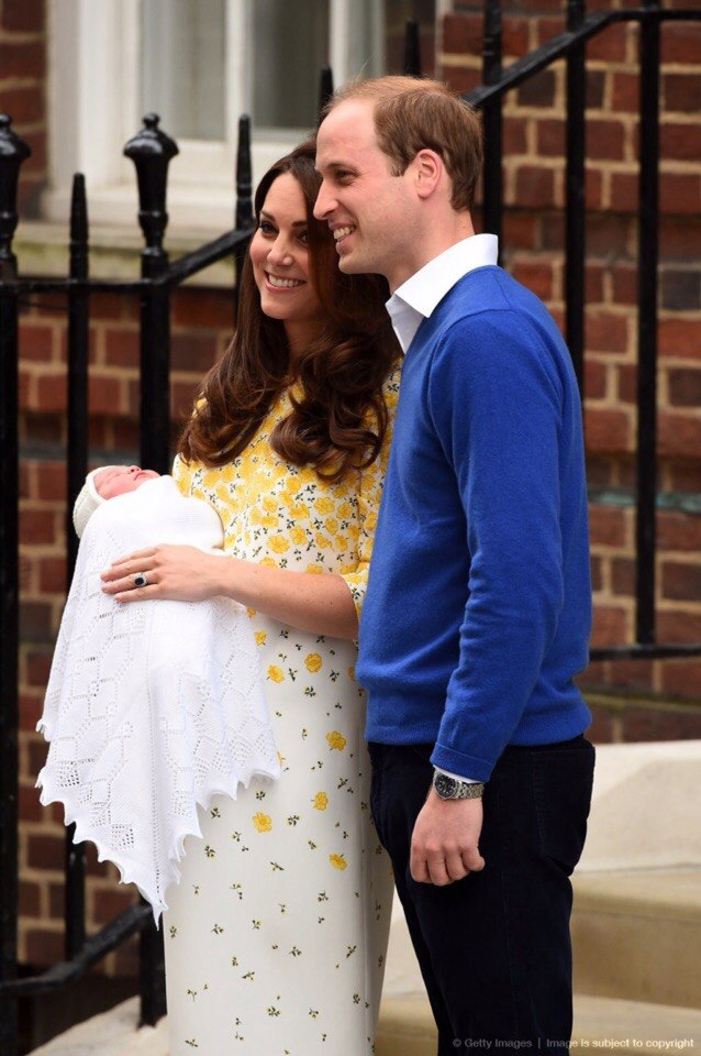 It's a girl! Кейт Миддлтон родила девочку!