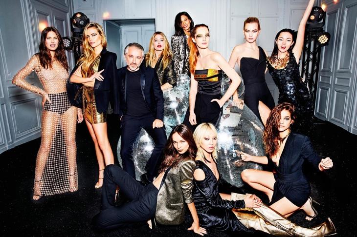 Даутцен Крус, Карли Клосс, Барбара Павлин и многие другие в дерзкой фотосессии для L'Oreal Paris (ФОТО)