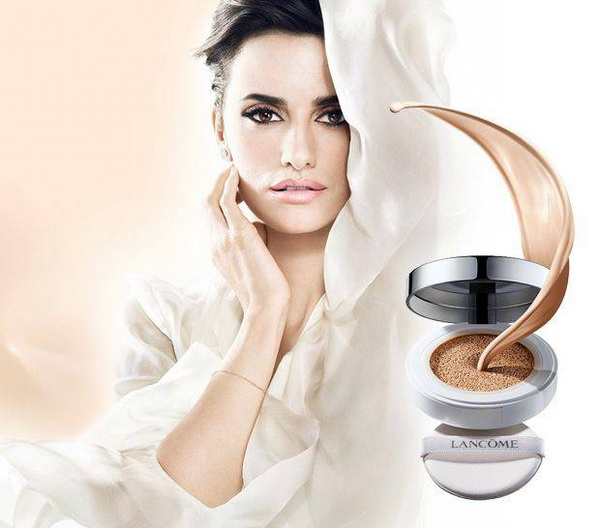 Miracle Cushion Cream Foundation макияж