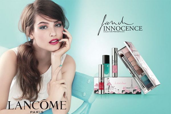коллекция макияжа Lancome Innocence French Collection весна 2015:
