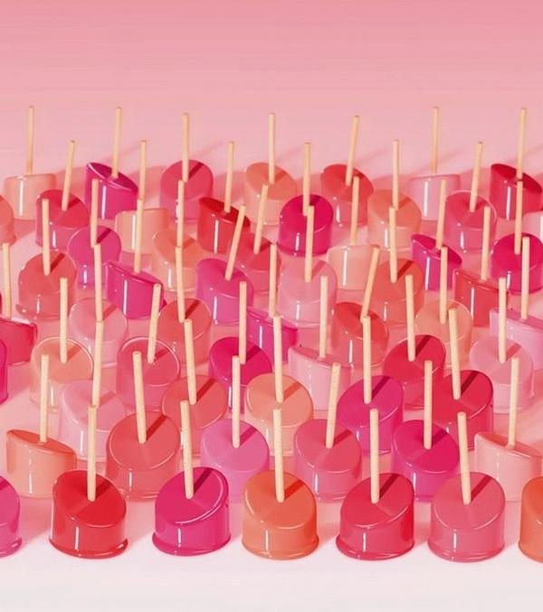 Французский бренд косметики Lancome запускает новую линию губных помад Shine Lover Vibrant Shine Lipstick