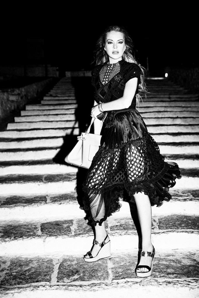 Она вернулась: Линдси Лохан отлично выглядит в фотосессии для NO TOFU magazine