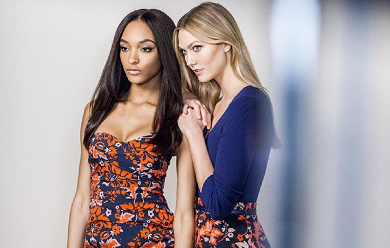 Подружки-красотки: Карли Клосс и Джордан Данн в рекламной кампании Liu Jo осень-зима 2016