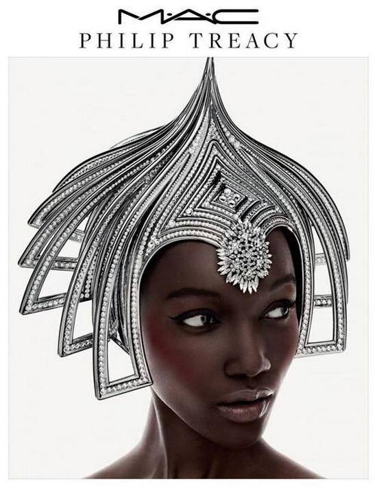 Безумный шляпник Филипп Трейси создал новую коллекцию макияжа