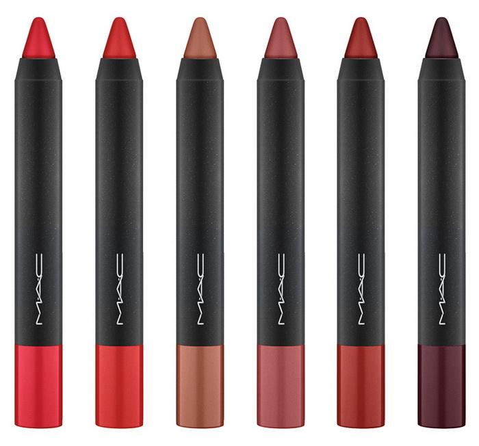 Уроки рисования: новые матовые помады-карандаши Velvetease Lip Pencil от MAC