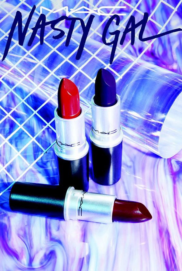 Для самых смелых девушек: коллекция макияжа MAC и Nasty Gal
