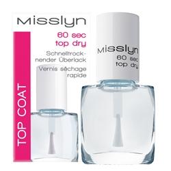 Средство для быстрого высыхания лака и защиты цвета Misslyn Nails