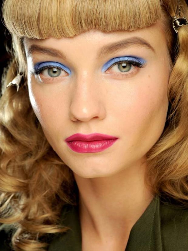 Color block, или новый трендовый макияж на лето 2015