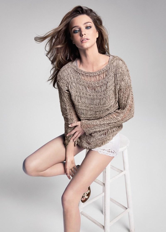 Миранда Керр в рекламной кампании Mango весна-лето 2013