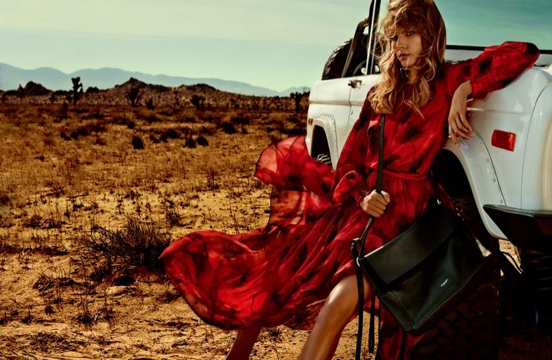 Цветок душистых прерий: Марина Линчук в февральском Vogue Japan 2016