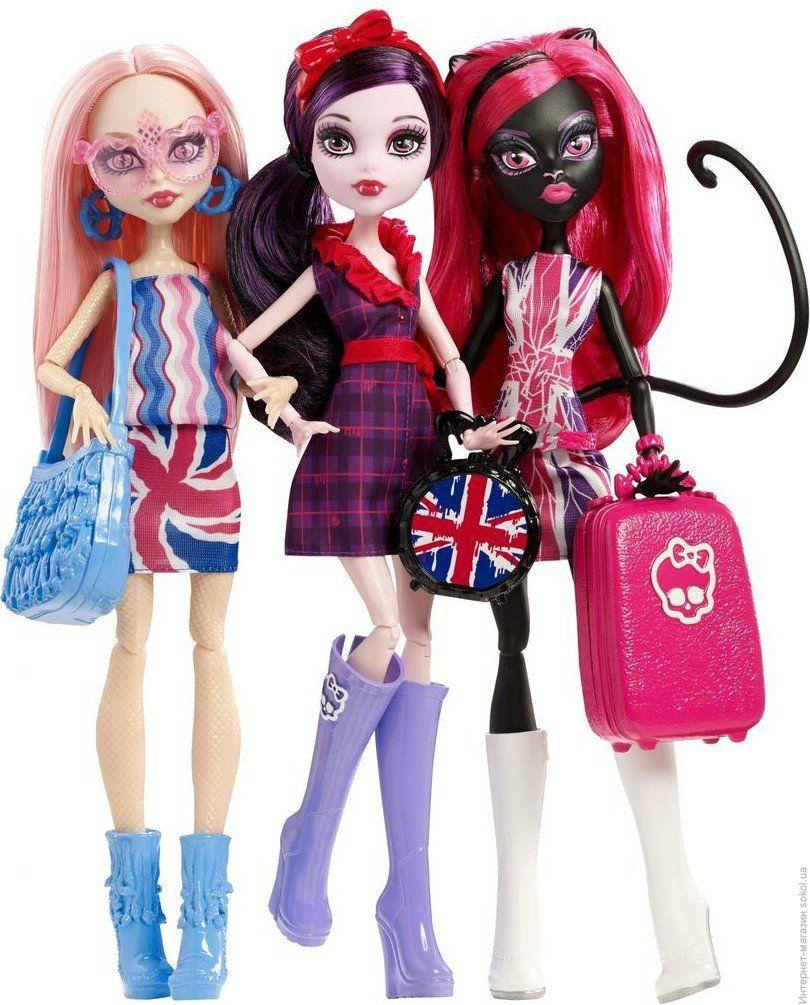 """Monster High: уроки """"ужасной"""" красоты"""