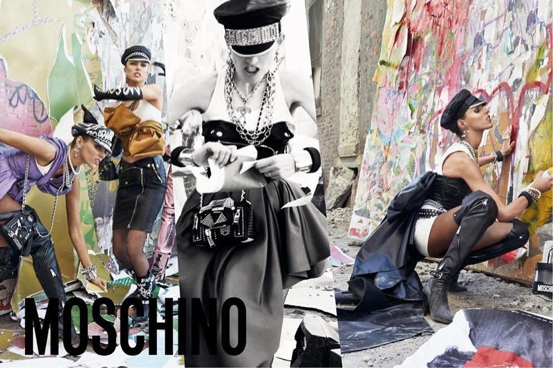 Революционные настроения: рекламная кампания коллекции Moschino осень-зима 2016