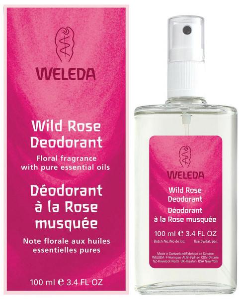 Органические новости: новые натуральные дезодоранты с розой и шалфеем от Weleda