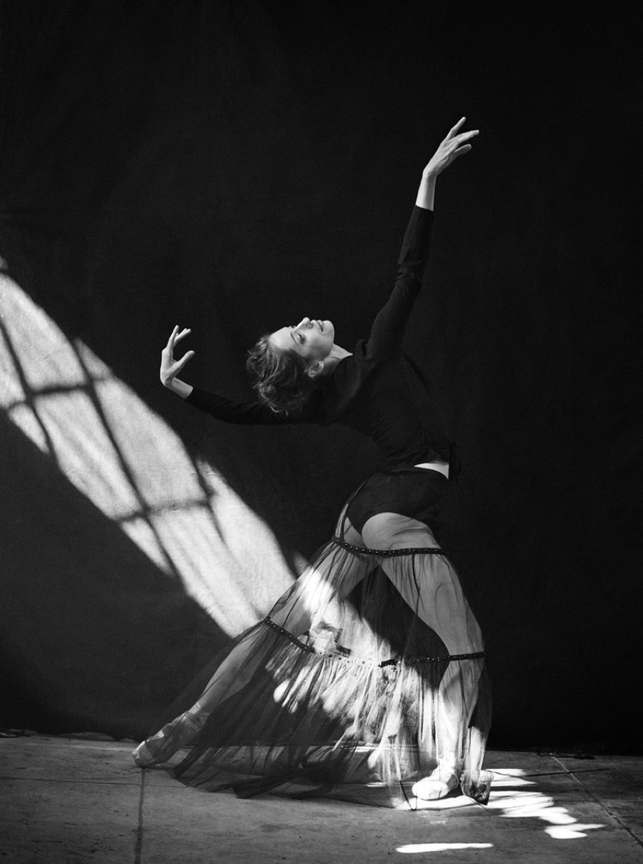 Культ тела: труппа New York City Ballet в потрясающей фотосессии Питера Линдберга