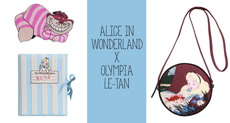 """А что это за Элис? Удивительная коллекция аксессуаров Olympia Le-Tan для """"Алисы в Стране Чудес"""""""