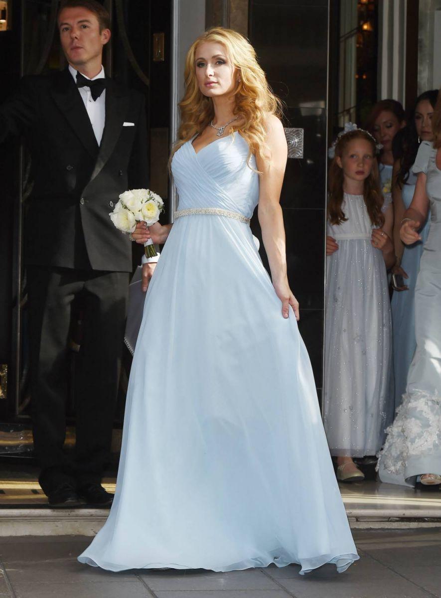 Свадьба лета: Сестра Пэрис Хилтон вышла замуж в платье за 50 тысяч