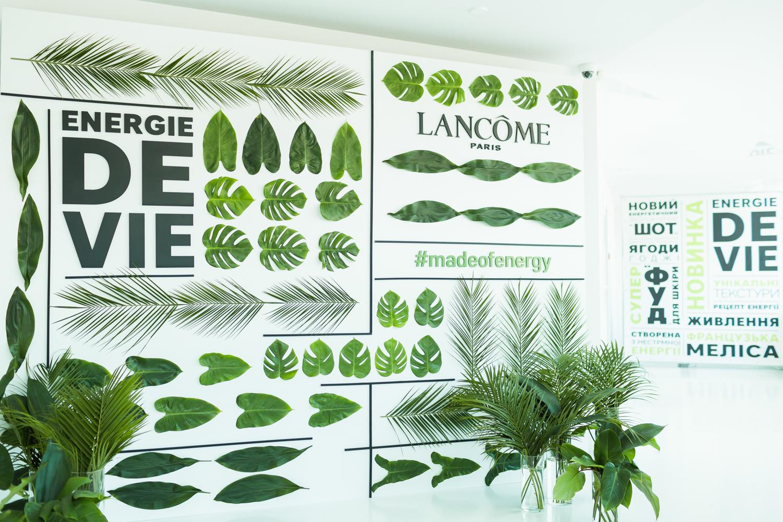 Заряд энергии: презентация новой линии ухода Energie De Vie от Lancоme