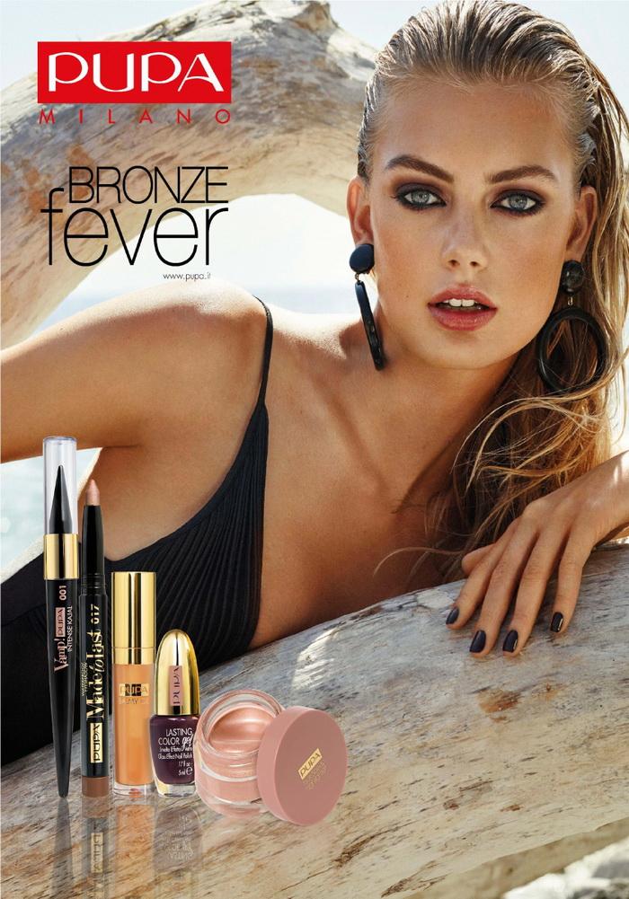 Бронзовая лихорадка: новая коллекция макияжа лето 2016 Bronze Fever от Pupa