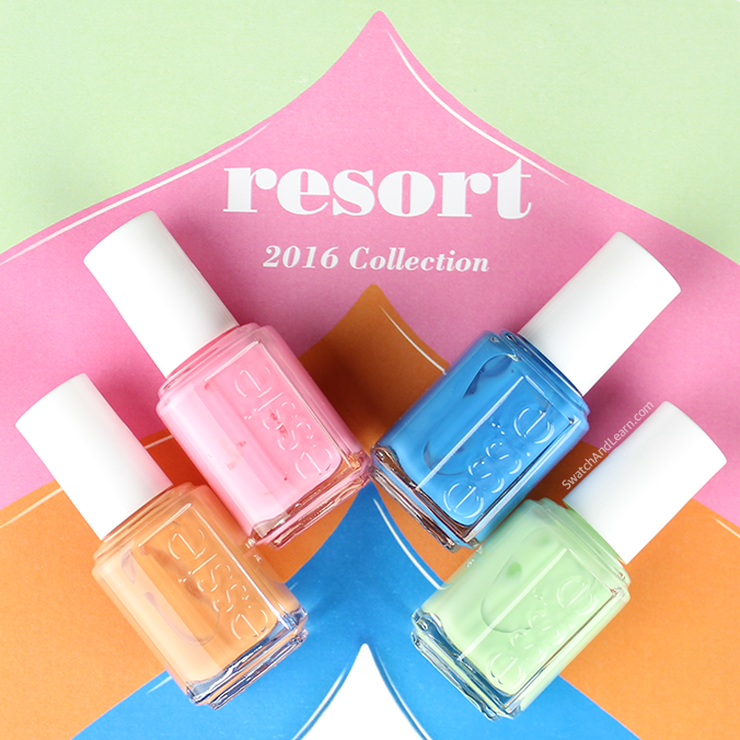 Коллекция Essie Resort Nail Collection Summer 2016