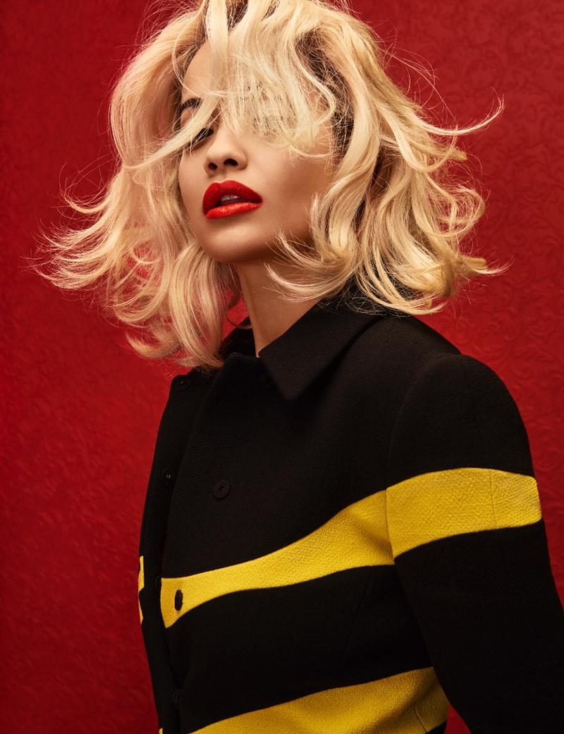 Бьюти-образ дня: Рита Ора похожа на Мерлин Монро в журнале Wonderland