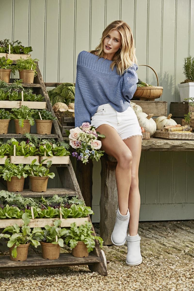 Мисс Ножки 2016: Роузи Хантингтон-Уайтли стала лицом бренда Ugg Australia