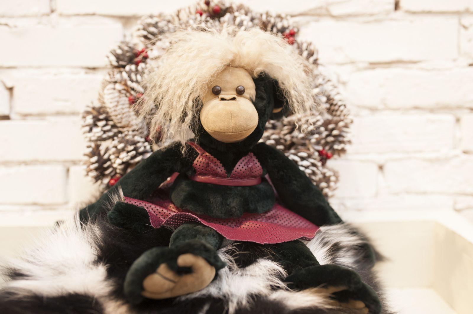Символ 2016 года: Ольга Аленова создала коллекцию симпатичных обезьянок
