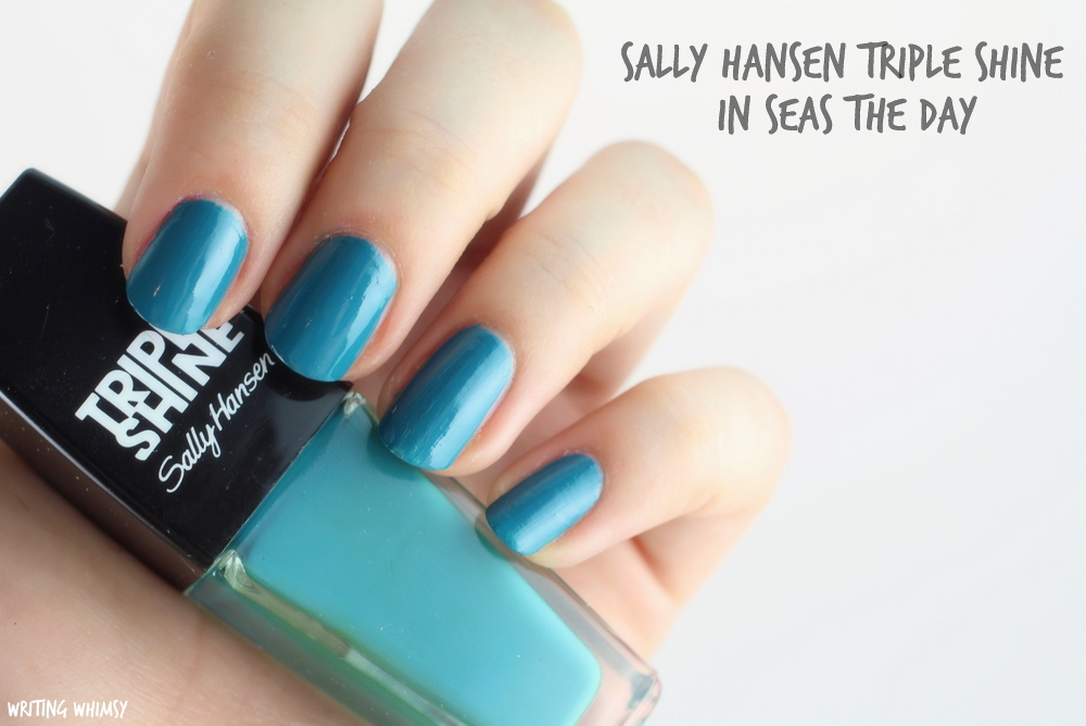 Triple Shine, Sally Hansen, 410 Seas the day