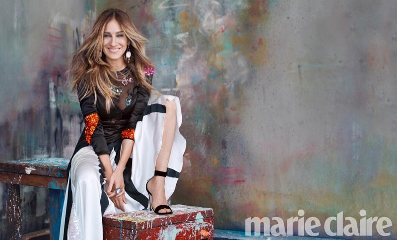 Триумфальное возвращение: воздушная Сара Джессика Паркер в снялась для Marie Claire