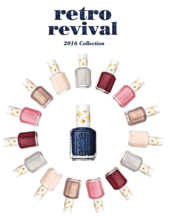 С юбилеем: Essie выпустят коллекцию из своих бестселлеров - Retro Revival Collection