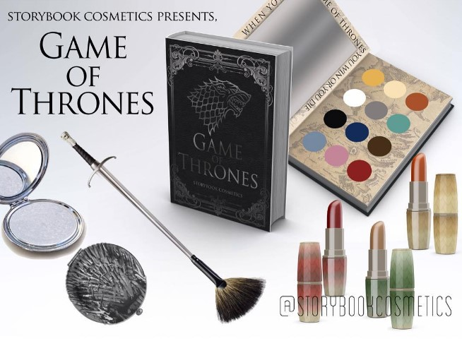 Американский бренд выпустит коллекцию косметики в честь Игры престолов (ФОТО)