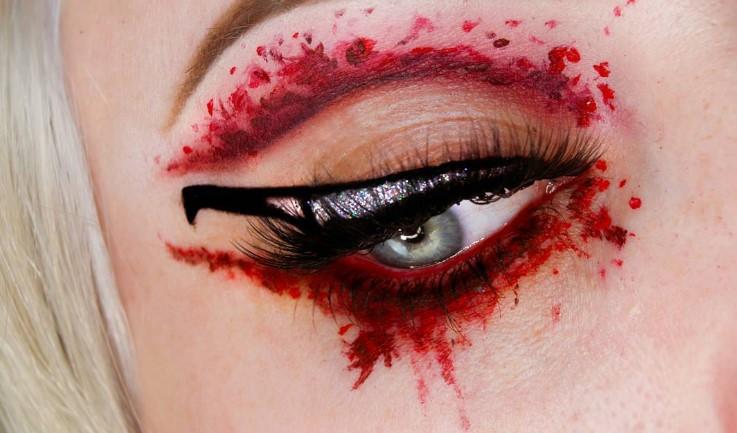 Трендовый макияж глаз на Хэллоуин 2016 (ФОТО)