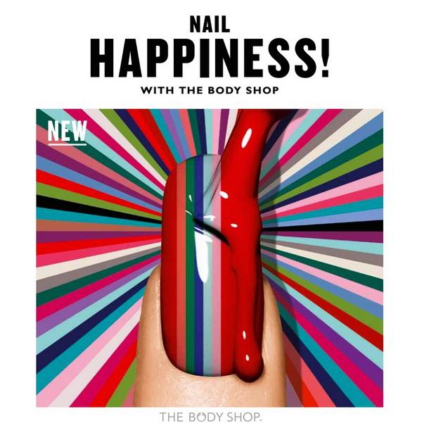 Маникюр  на счастье: новая коллекция лаков от The Body Shop