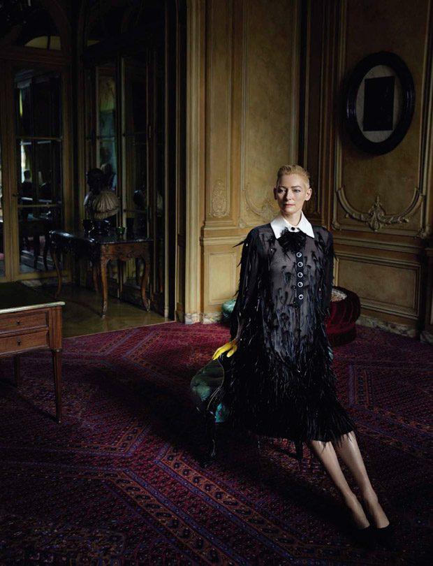 Тильда Суинтон поразила новыми образами в новом фотопроекте фото