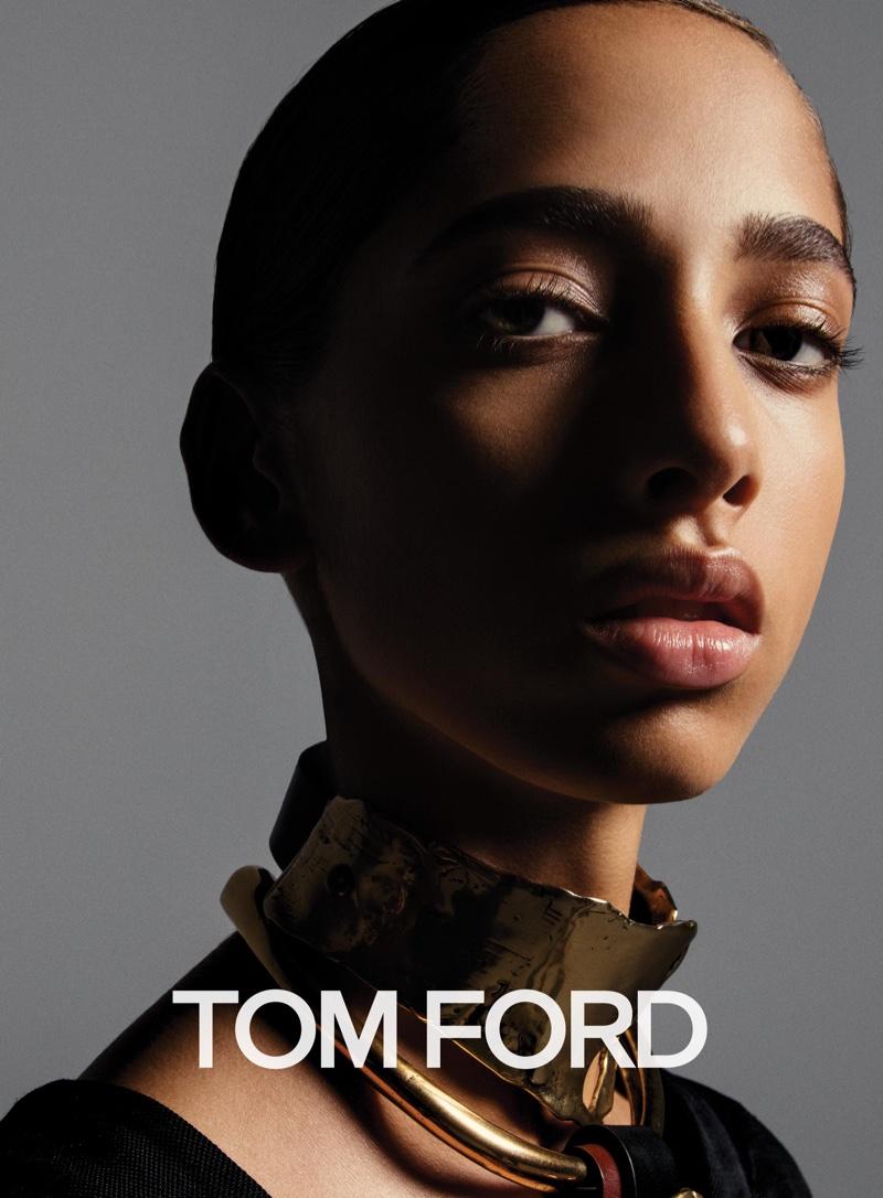 В сети появились снимки новой рекламной кампании Tom Ford в ретро мотивах (ФОТО)