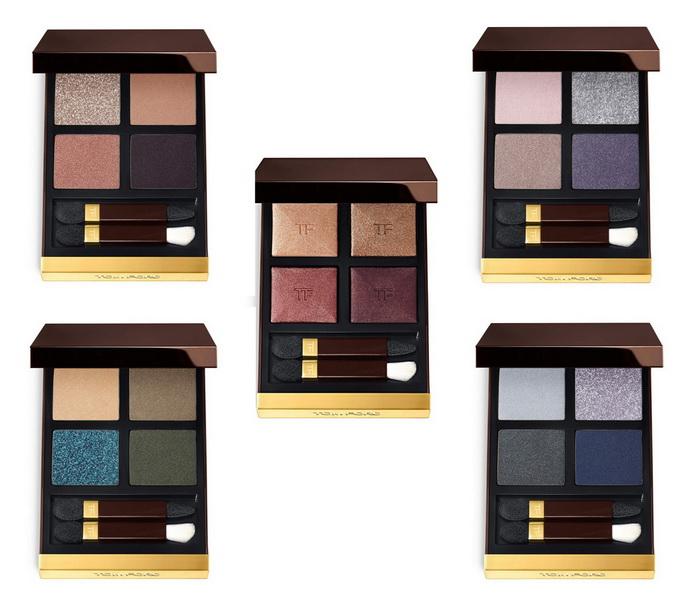 Новые тени для век Eye Color Quads от Tom Ford