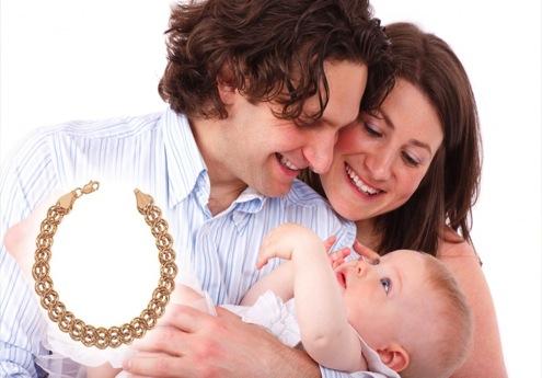 Украшение по случаю рождения ребёнка