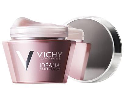 Ночной крем Vichy Idealia Skin Sleep
