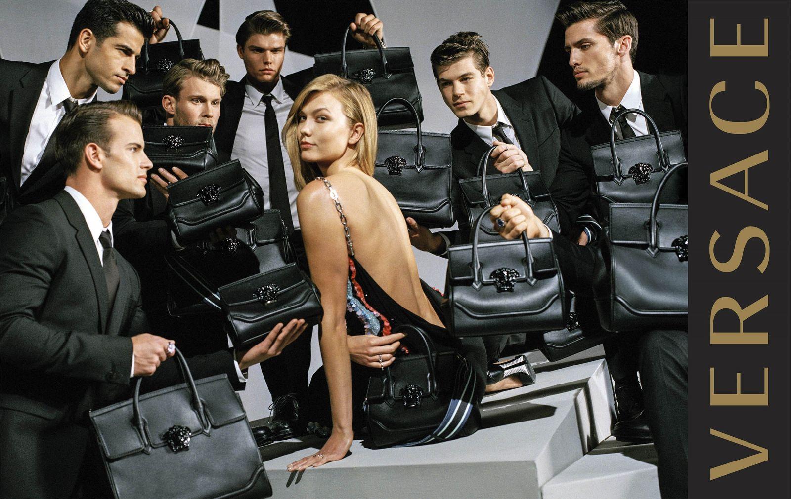 Джиджи Хадид и Карли Клосс снялись в изысканной рекламе Versace (ФОТО)