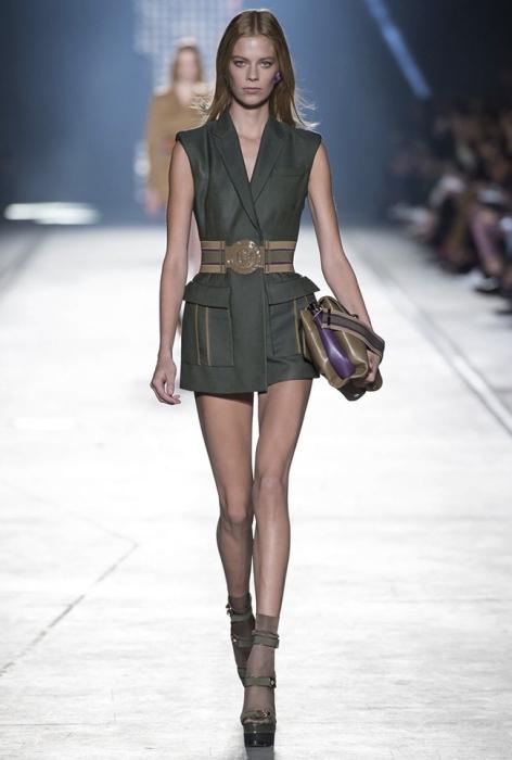 коллекция Versace сезона весна-лето 2016