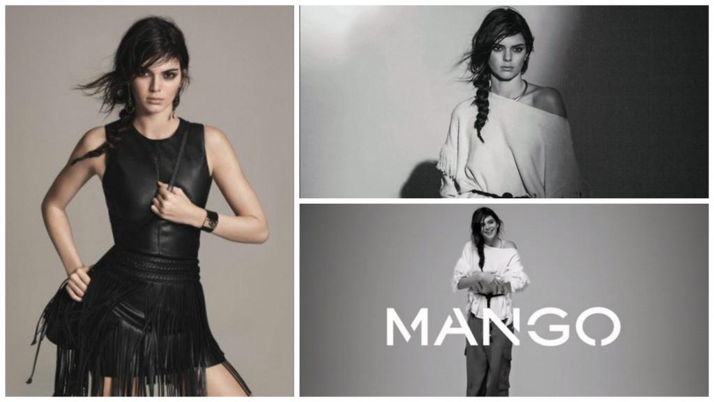 Новый успех: Кендалл Дженнер стала лицом Mango фото