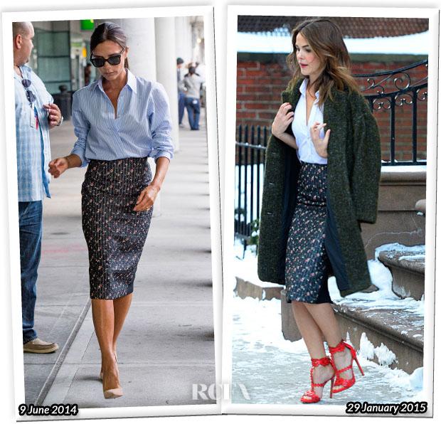 Модная битва: Виктория Бекхэм против Керри Рассел