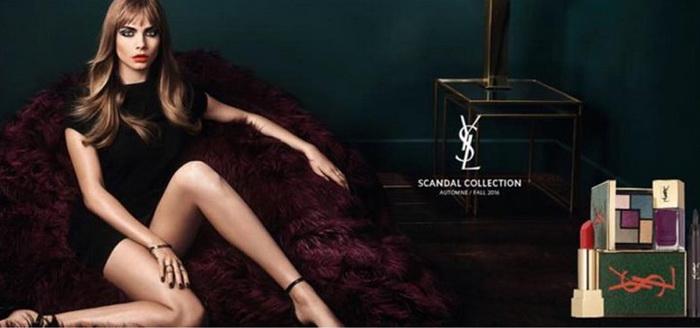 Что, уже? Новая коллекция средств для макияжа Scandal от YSL