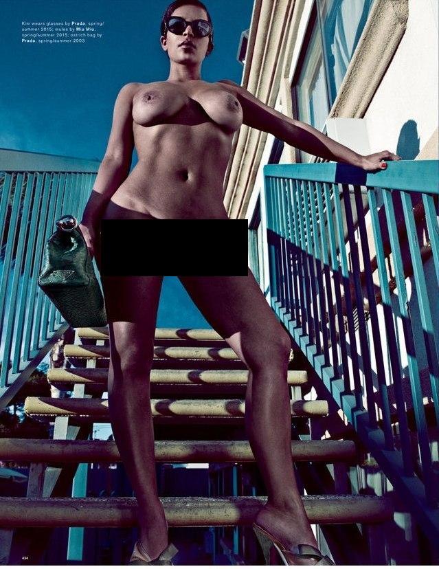 Шок: новые скандальные подробности фотосессии Ким Кардашьян