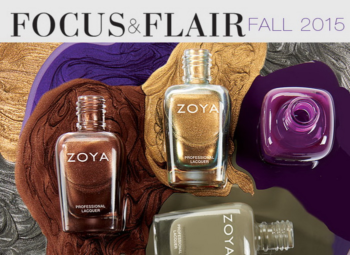 Zoya Focus & Flair Collection осень  2015 фото