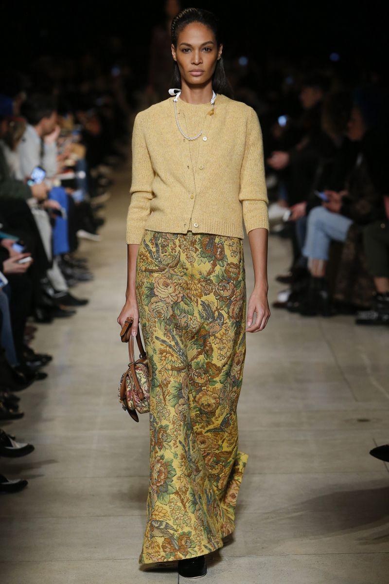 Миу-Миучча: звездный показ коллекции Miu Miu осень-зима 2016 на неделе моды в Париже