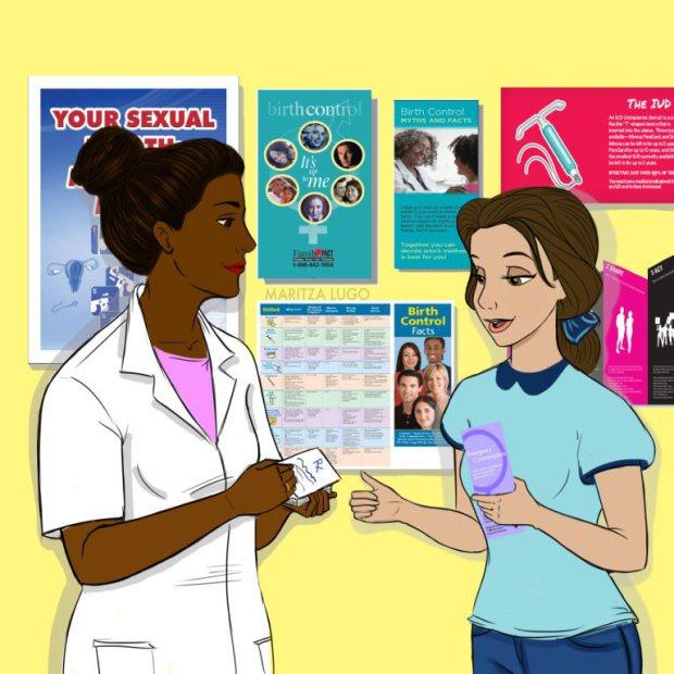 Вариации на тему Disney: Если бы диснеевские принцессы побывали в кабинете у гинеколога
