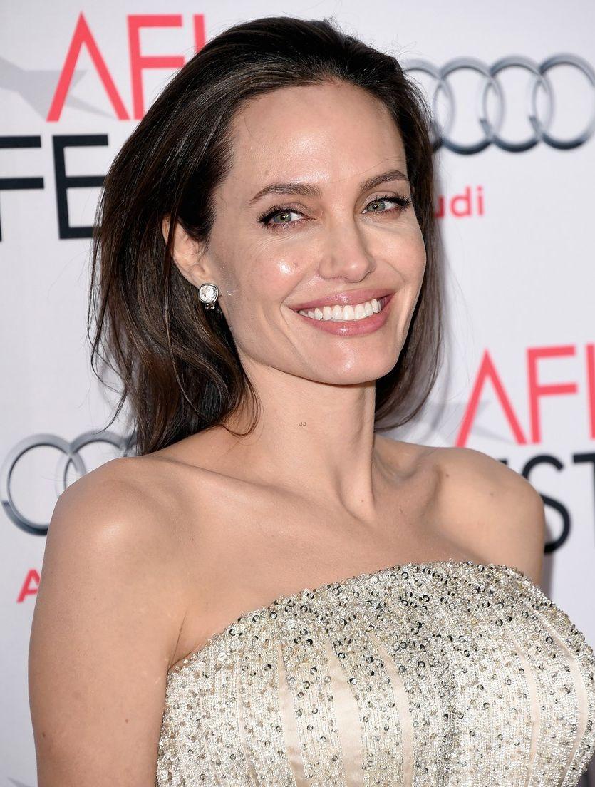 Анджелина Джоли на премьере «Лазурный берег» фото