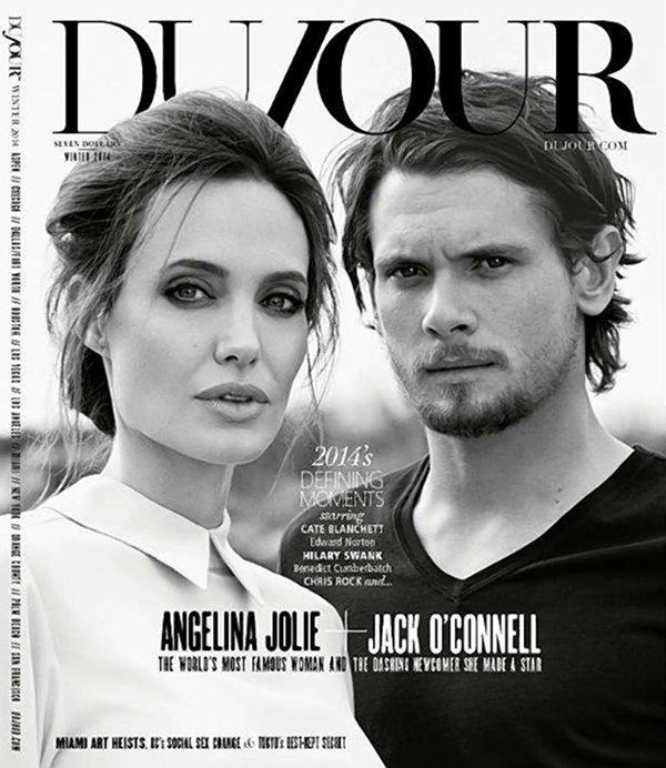 Анджелина Джоли блистает в фотосессии с другим мужчиной
