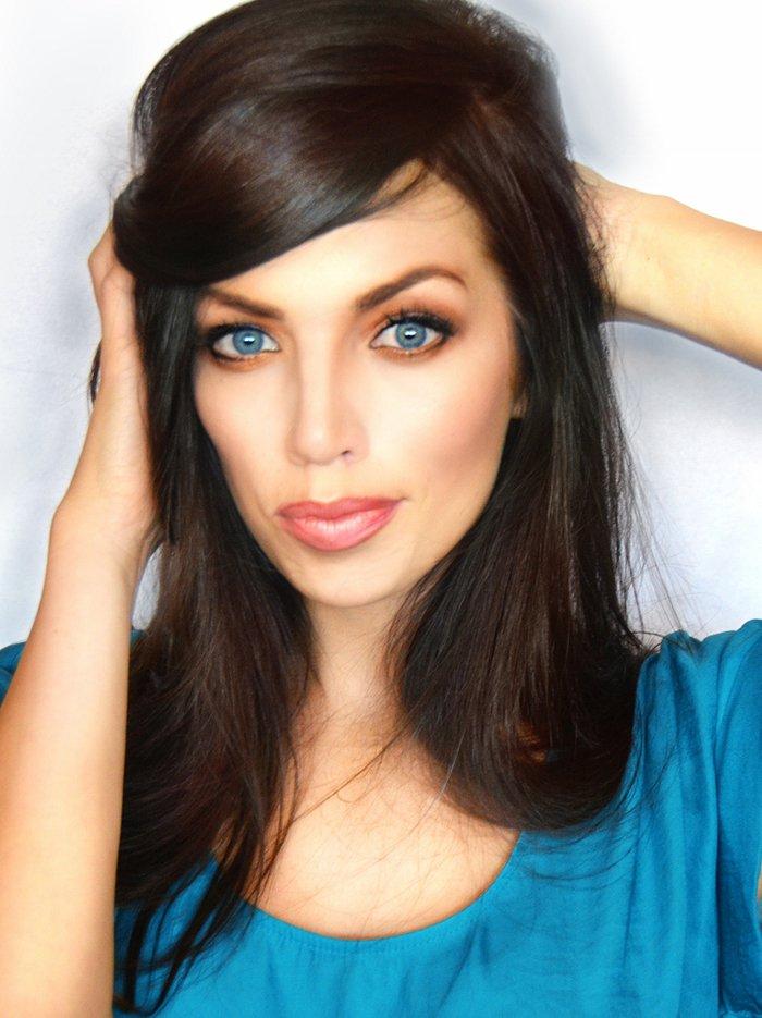 Роскошный макияж в стиле Анджелины Джоли